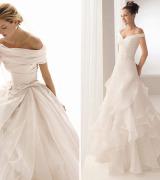 vestido de noiva um ombro 3