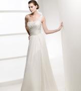 vestido de noiva um ombro 7