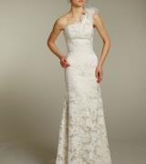 vestido de noiva um ombro 8