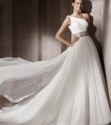 vestido de noiva um ombro 9