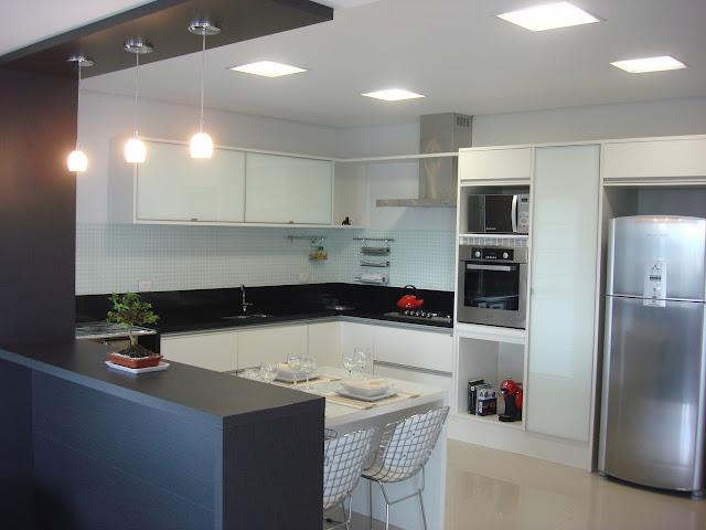Bancada para cozinha, aqui tem modelos modernos  Moda e ConfortoModa e Conforto # Bancada Cozinha Simples