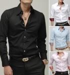 camisa masculina social 10