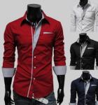 camisa masculina social