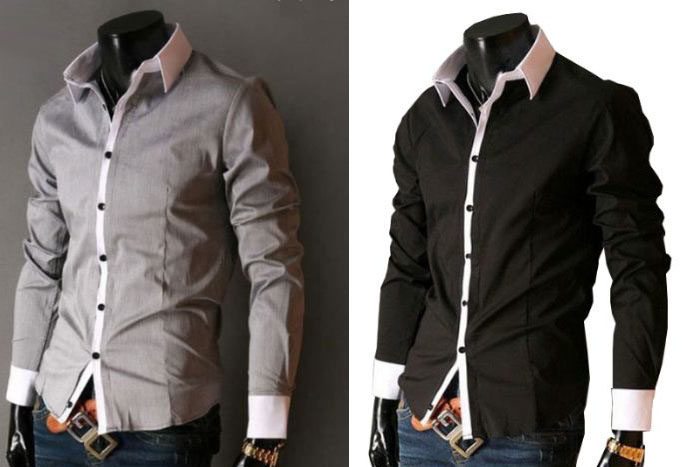 20f5a33f92 Camisa masculina social  moda para homem de estilo - Moda e ...