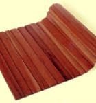 tapete de madeira prático
