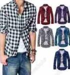 camisa xadrez masculina 1