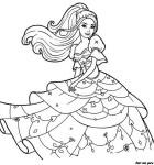 desenhos da barbie para pintar 3