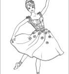 desenhos da barbie para pintar 7