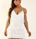 vestido branco com franja 6