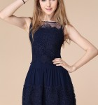 vestido curto de renda 11