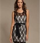 vestido curto de renda 13