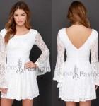 vestido curto de renda 4