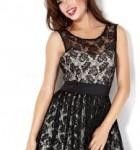 vestido curto de renda 6