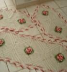 jogo de crochê para cozinha 10