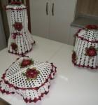 jogo de crochê para cozinha 11