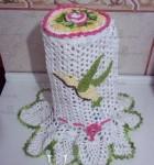 jogo de crochê para cozinha 8