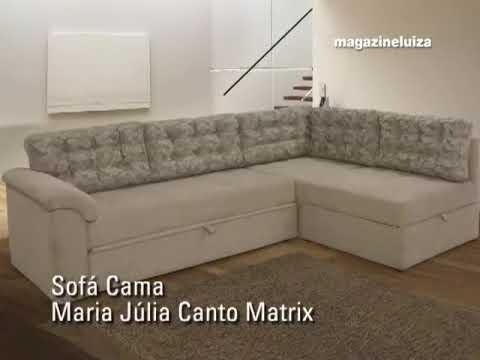 Conforto com sofá cama de canto, veja comoModa e Conforto