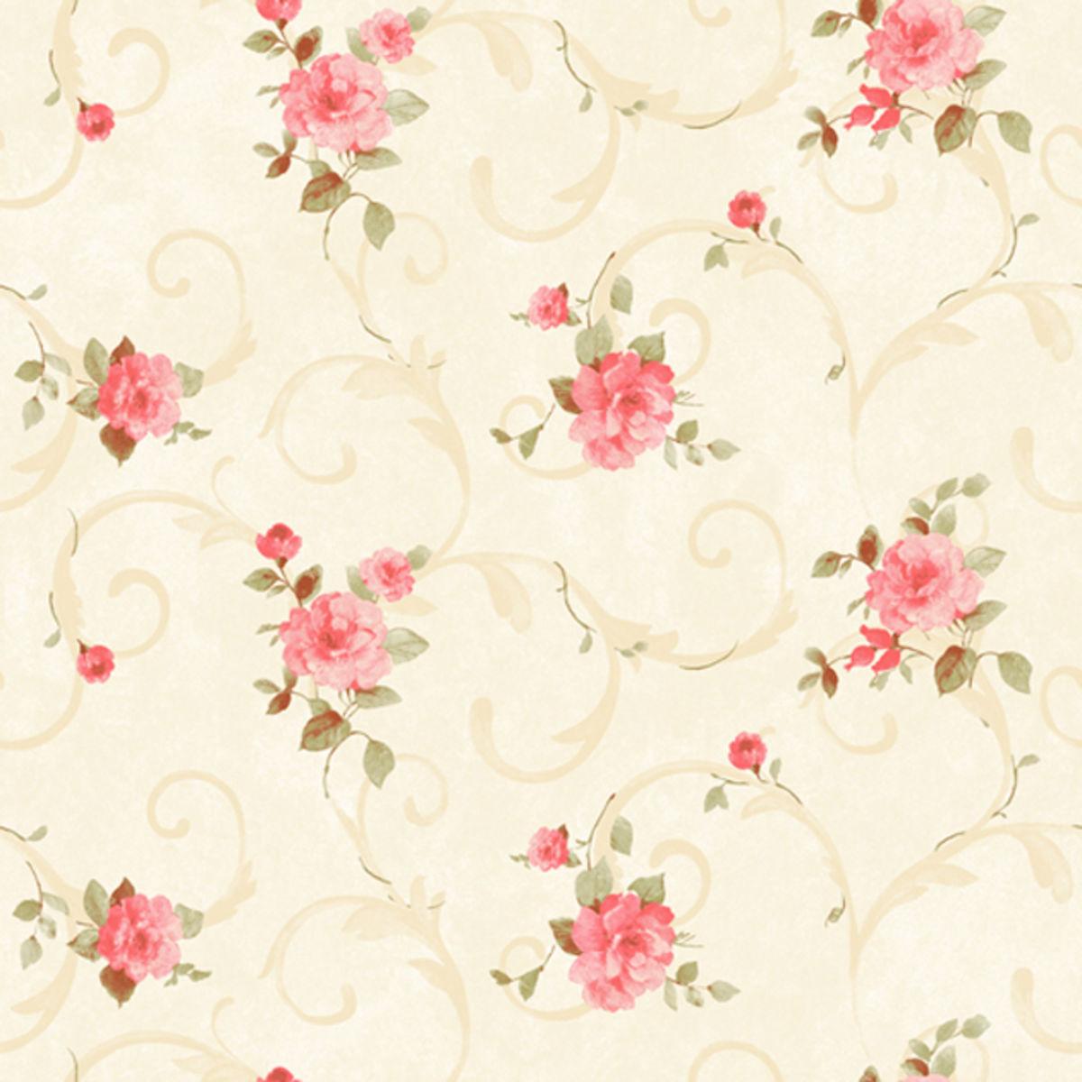encanto do papel de parede florido que contagia Moda e  #C00B14 1200 1200
