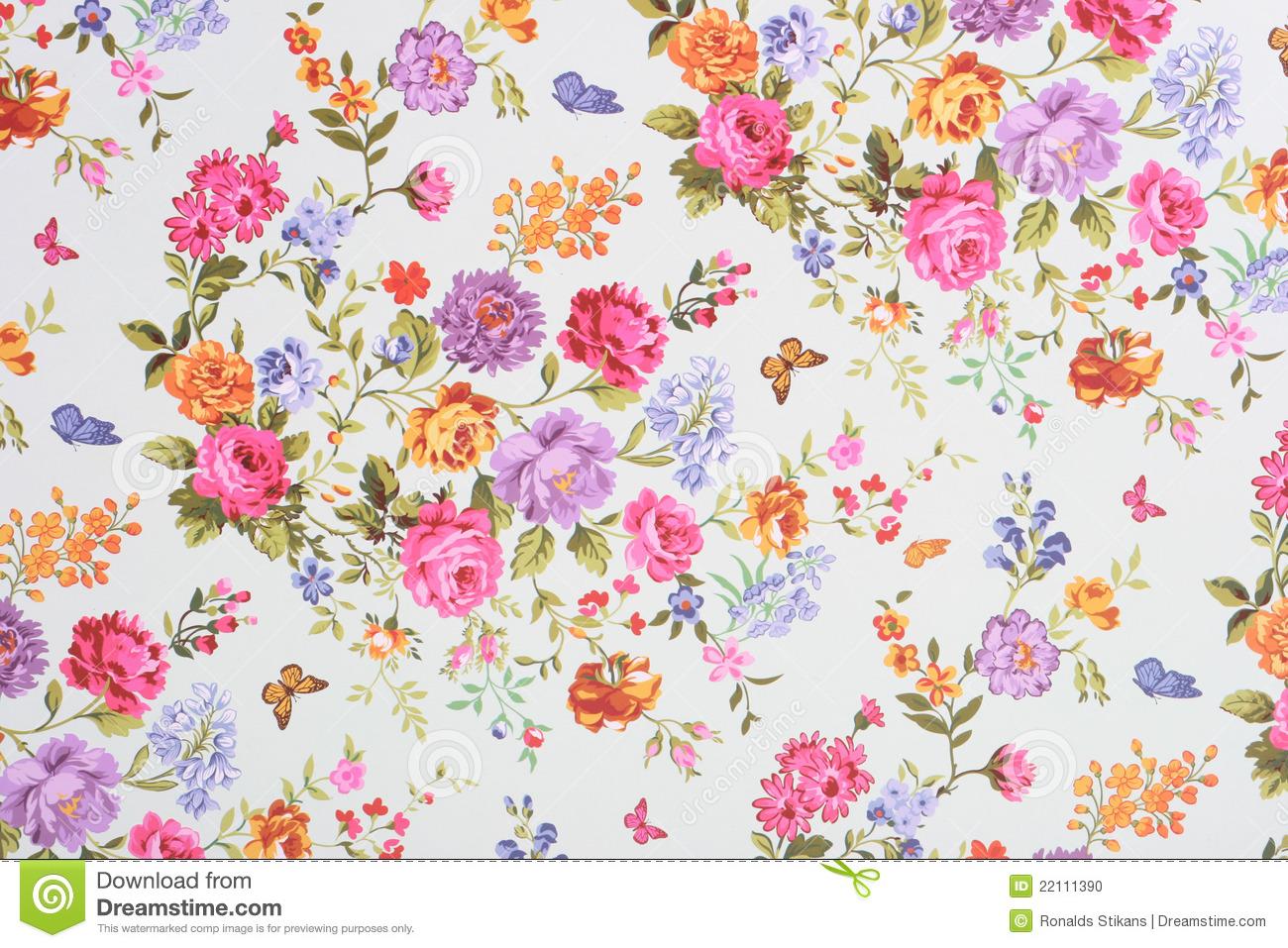 O encanto do papel de parede florido que contagia moda e - Papel pared ...