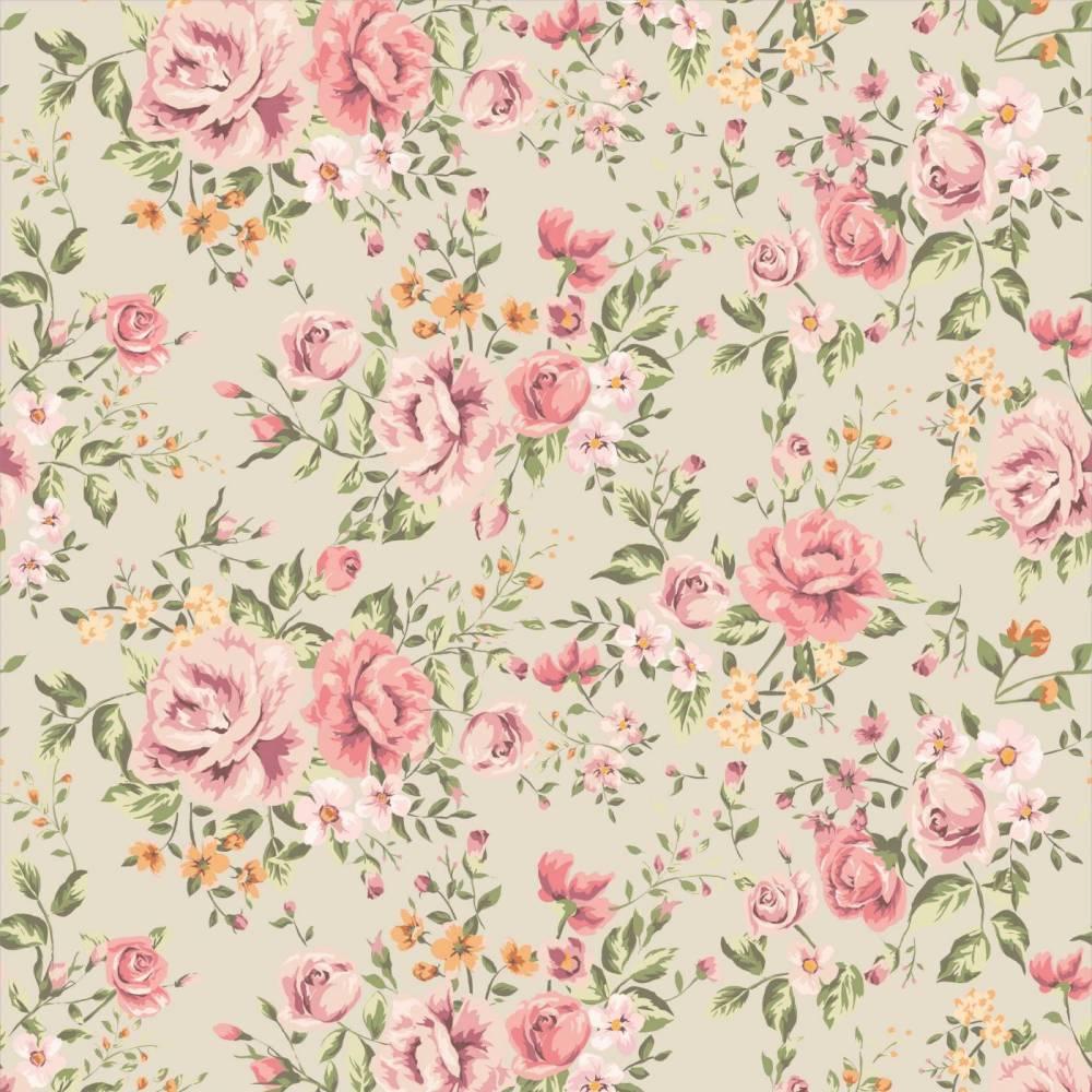 O encanto do papel de parede florido que contagia moda e confortomoda e conforto - Papel para pared infantil ...