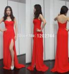 vestido longo com fenda 6
