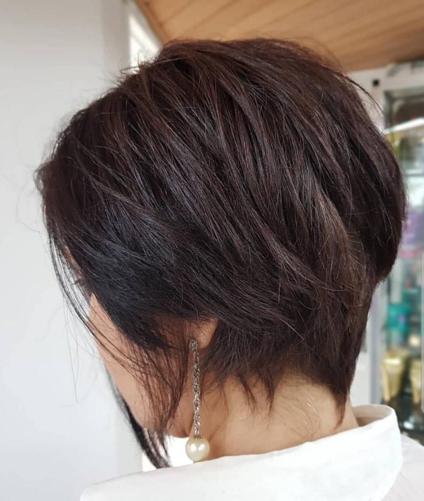 corte lindo de cabelo feminino