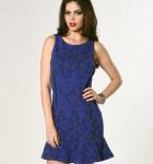 vestido azul com babado 2
