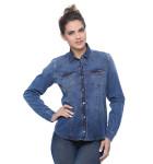 camisa jeans feminina manga longa 2