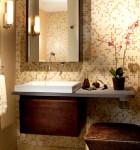 decoracao para banheiro com azulejo
