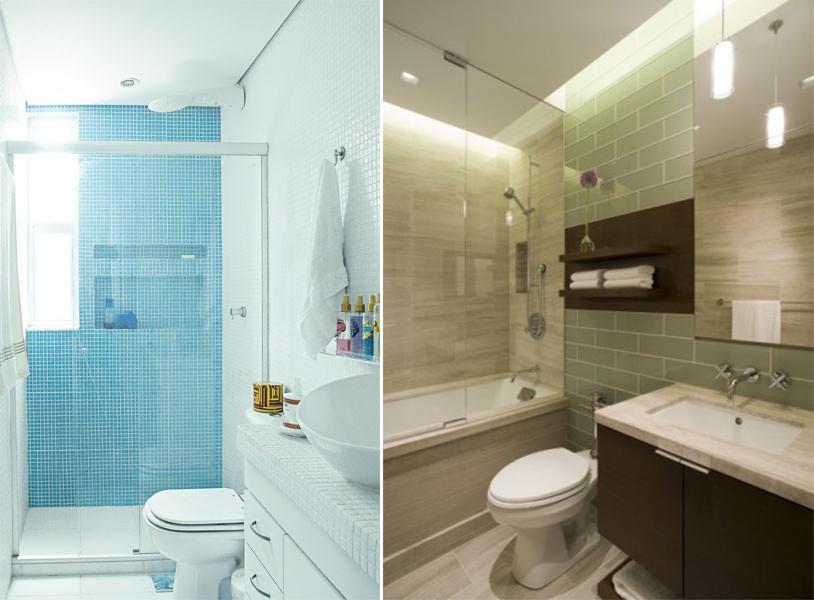 Ideias de decoração para banheiro  fotos e dicas  Moda e ConfortoModa e Con -> Decoracao Banheiro Salmao