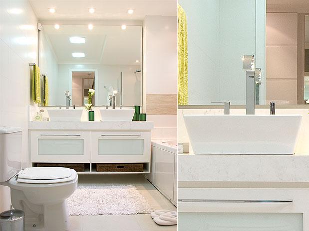 Ideias de decoração para banheiro  fotos e dicas  Moda e ConfortoModa e Con -> Decoracao De Banheiro Alugado