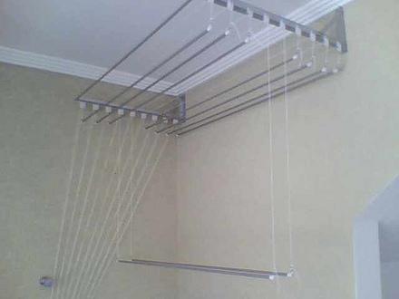 varal de teto para apartamento