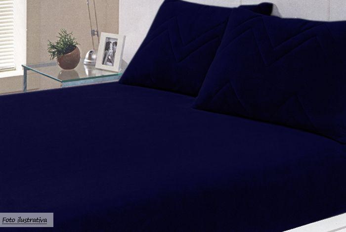 jogos de cama azul escuro