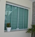 janelas de vidro comum