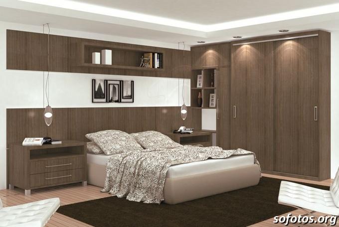 moveis sob medida em quartos de casal