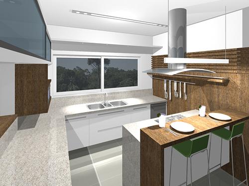 cozinhas pequenas com ilha 1