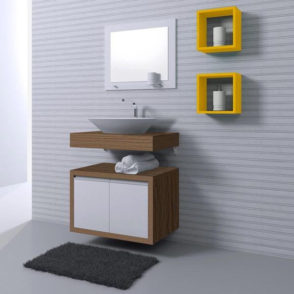 Armário para banheiro de vários modelos, confira  Moda e ConfortoModa e Conf -> Forrar Armario De Banheiro