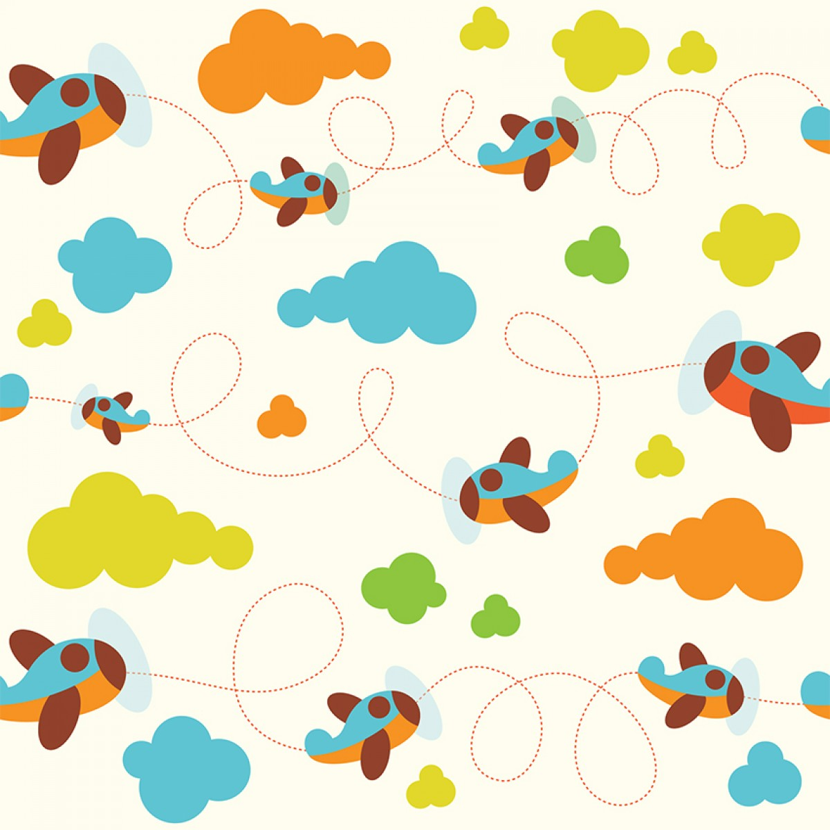 Papel de parede infantil muitos modelos lindos moda e - Papel infantil para pared ...