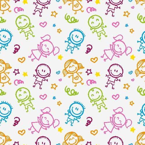Papel de parede infantil muitos modelos lindos moda e for Papel de pared infantil