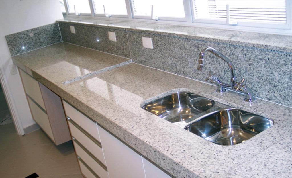 Pia de granito, higiene, cores lindas e modernas  Moda e ConfortoModa e Conf -> Pia De Banheiro Com Granito Ouro Brasil