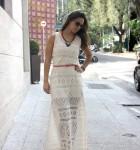 vestidos longos com renda para verao 1ª imagem