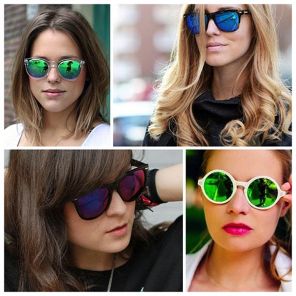oculos de lente espelhada
