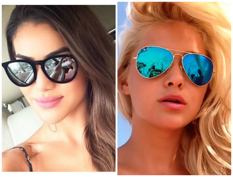 oculos de  lente espelhada 5