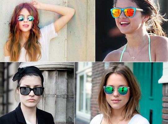 oculos de  lente espelhada 6