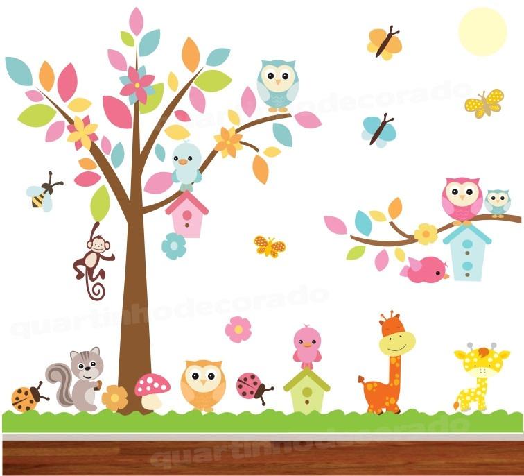 papel de parede criativo infantil