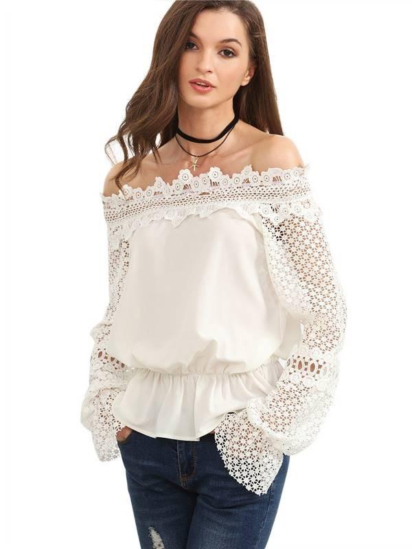 blusa ciganinha branca