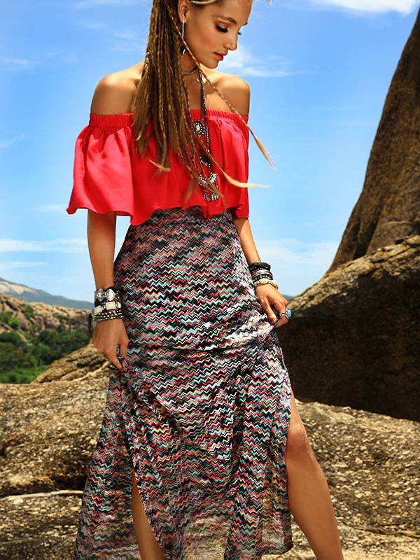blusa ciganinha vermelha