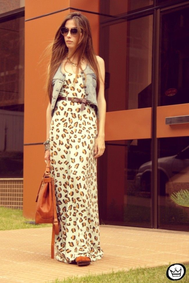 colete jeans com vestido 6