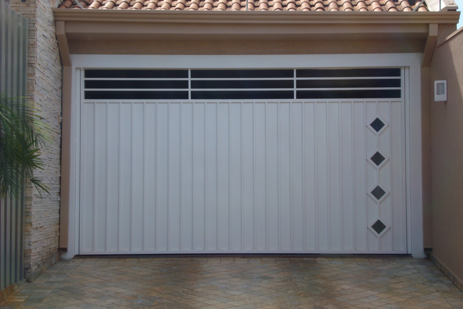 modelos de portoes de garagem 3