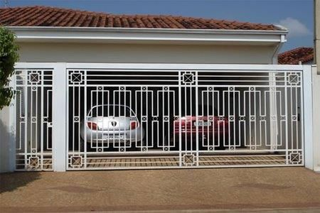 modelos de portoes de garagem 4